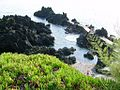 Vistar parcial da zona balnear da Fajã Grande, Calheta, ilha de São Jorge, Açores, Portugal.JPG