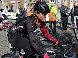Nicole Steigenga Dutch cyclist