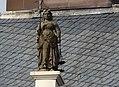 Vrouwe Justitia on Stadhuis in Dokkum.jpg