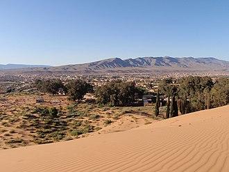 Ksour Range - View of the Ksour Range from near Ain Sefra