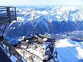 Vue des terasses Aravis et Chamonix depuis la terrasse sommitale a 3842 m - panoramio.jpg