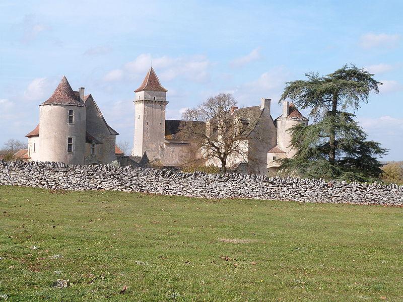 Château de Couanac(vue générale)