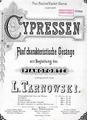 W. Tarnowski - Cypressen 4.pdf