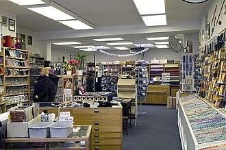 Haberdasher - A haberdasher's shop