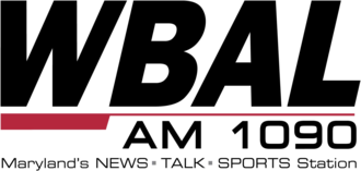 WBAL (AM) - Former logo of the radio station