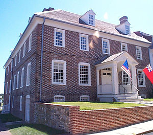 Washington College's 18th century Custom House...
