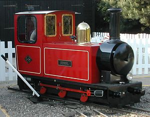 Wells Harbour Railway - Image: WHR Densil