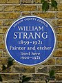 WILLIAM STRANG 1859-1921 Painter and etcher lived here 1900-1921.jpg