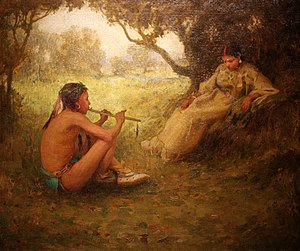 Taos Society of Artists - Image: WLA brooklynmuseum Lovers Indian Love Song