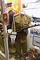 WW2 Soviet Russian Red Army field blouse pilotka gymnastyrka model PP Sh 41 machine gun Lofoten Krigsminnemuseum Norway 2019 0101.jpg
