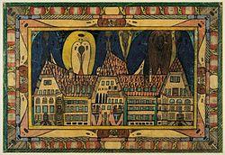 Πίνακας του Άντολφ Βέλφλι, 1921.