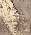 Waldseemuller map closeup with America.jpg