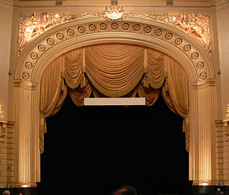 War Memorial Opera House - Stage and proscenium