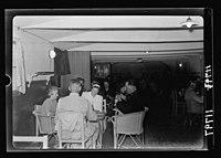 Warrant Officers' Club (Garrison Club at German colony, Jer. (i.e., Jerusalem) Playing 'Wist' LOC matpc.20448.jpg