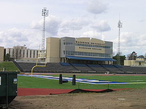 Yager Stadium at Moore Bowl - Image: Washburn Yager 1