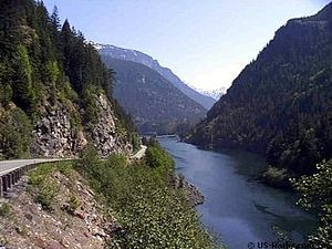 English: North Cascades Highway (Washington St...