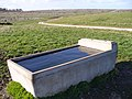 Water Trough and Downland - geograph.org.uk - 361598.jpg