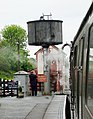 Water tower Northiam Station, South Eastern and Chatham Railway.JPG