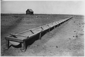 Watering trough - Sheep watering trough, Idaho, 1930s