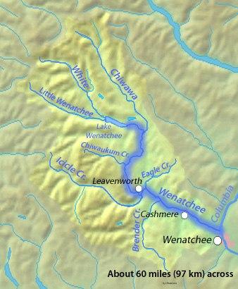 Wenatcheerivermap