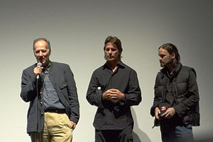 Werner Herzog, Christian Bale e Jeremy Davies al Toronto International Film Festival per la prima di L'alba della libertà (2006)