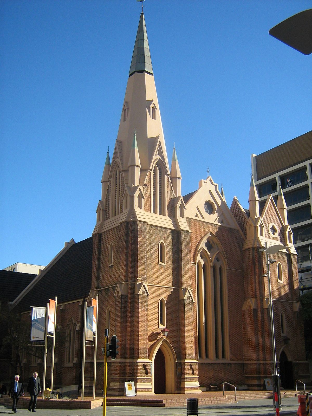 Gothic Victorian House Wesley Church Perth Wikipedia