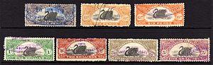 Revenue stamps of Western Australia - A selection of Western Australian stamp duty revenues.