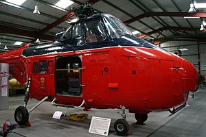 Westland Whirlwind (helicopter) - Whirlwind HCC.12 of the Royal Flight