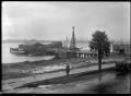 Wharf at Tauranga, 1924 ATLIB 293860.png
