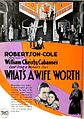 What's a Wife Worth (1921) - Ad 1.jpg