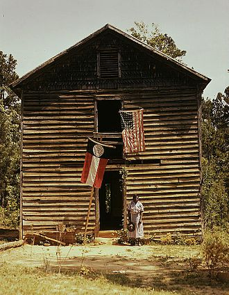 Greene County, Georgia - Unidentified building near White Plains, Georgia, ca. 1941