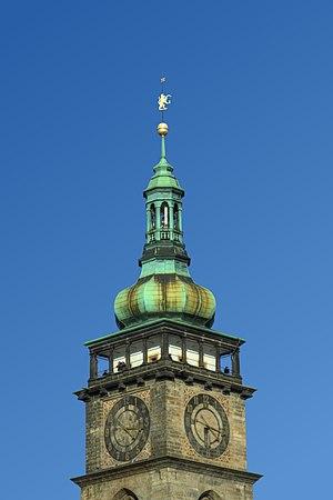 Hradec Králové - White tower detail