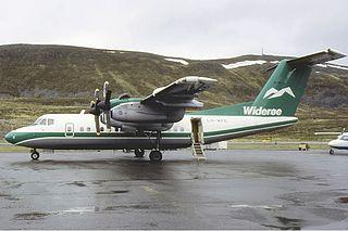 Widerøe Flight 710 1988 passenger plane crash on the island of Torghatten, Brønnøy, Norway