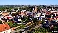 Widok - Gotycki kościół farny św. Katarzyny powstał w latach 1310-70. Brodnica, Polska . Widok miasta z wieży zamkowej. - panoramio.jpg