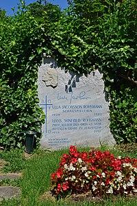 Wiener Zentralfriedhof - Gruppe 40 - Ulla Jacobsson Rohsmann.jpg