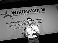 Wikimanía 2015 - Day 4 - Luis von Ahn conference - LMM (24).JPG