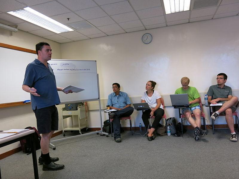File:Wikipedia Education Program Pre-Conference Wikimania 2013 03.JPG