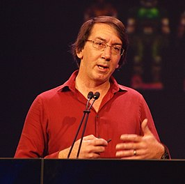 Wright in 2010 op de Game Developers Conference