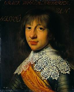 William Frederick, Prince of Nassau-Dietz Count of Nassau-Dietz, Stadtholder of Friesland, Groningen and Drenthe
