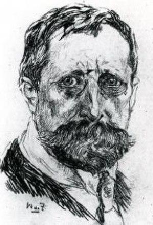 Willem de Zwart - Self-portrait (c.1910)