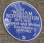WilliamRothensteinBluePlaque.jpg