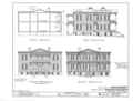 William A. Dawson House, 76 South McGregor Avenue, Spring Hill, Mobile County, AL HABS ALA,49-SPRIHI,2- (sheet 2 of 6).png