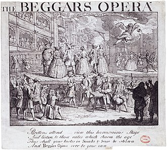 Second Thoughts Are Best - The Beggar's Opera (1728) by William Hogarth