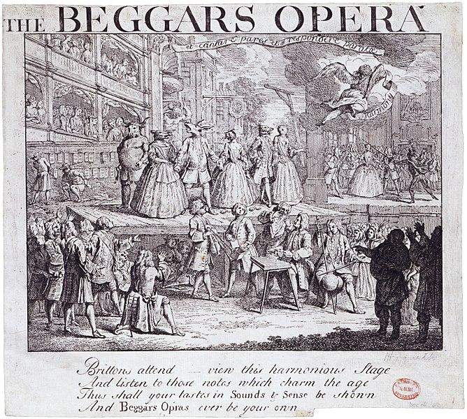 from Joseph johns gays beggars opera full length