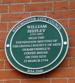 William shipley plaque