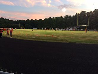 Athens Drive High School - Williams Stadium during a Varsity Football Game