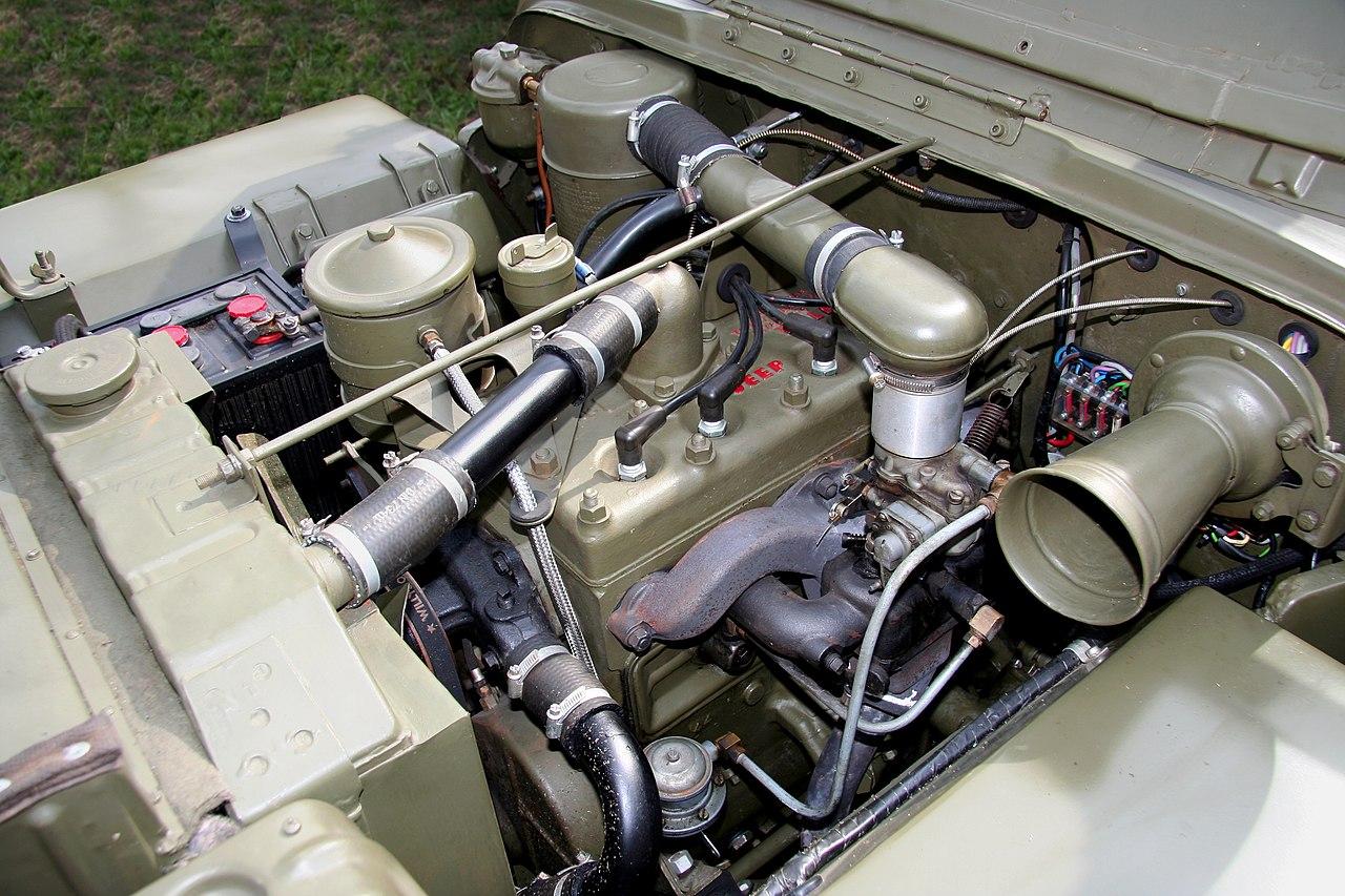 Willys Go Devil Engine Wikiwand 1952 Wagon Wiring Diagram