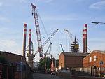 Wind turbine platform at Cammell Laird, Birkenhead (3).JPG