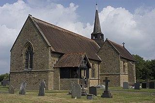St Lukes Church, Winmarleigh Church in Lancashire, England