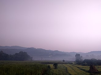 Sivalik Hills - Image: Winter morning in Terai